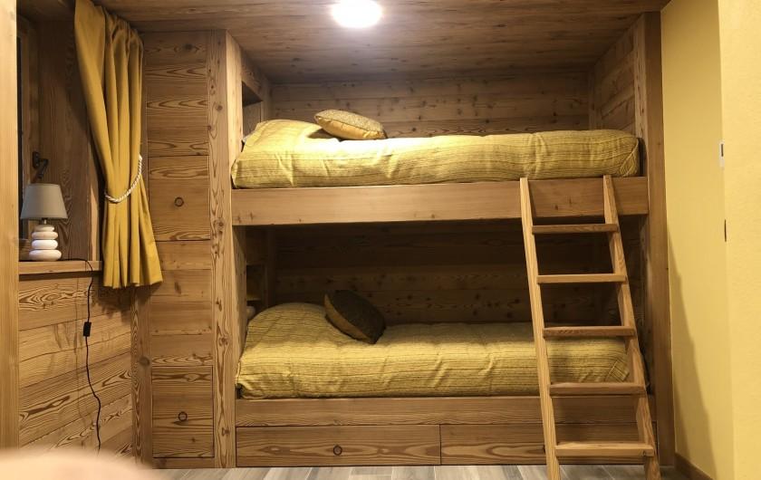 Location de vacances - Chalet à Chamonix-Mont-Blanc - 2 Lits Adultes  ( 200x90 )