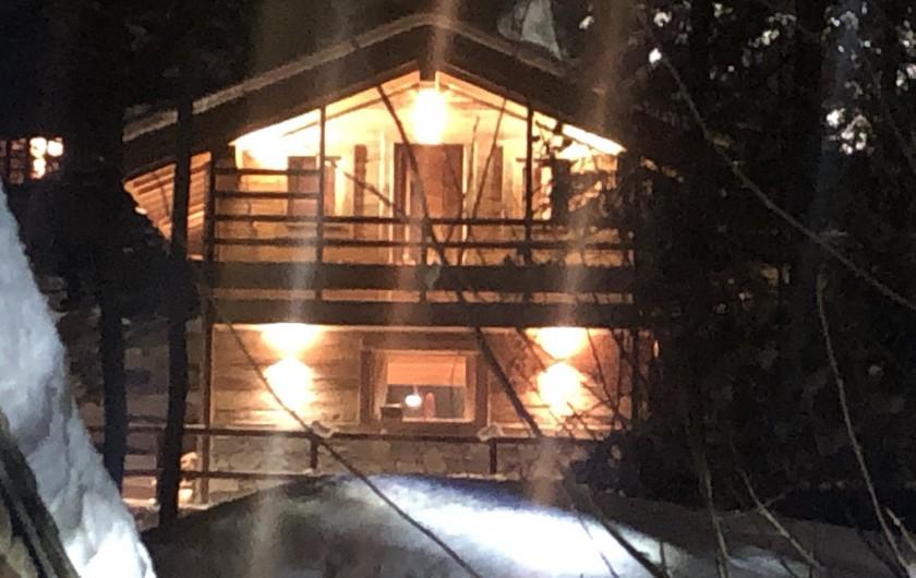 Location de vacances - Chalet à Chamonix-Mont-Blanc - ...Et de nuit..
