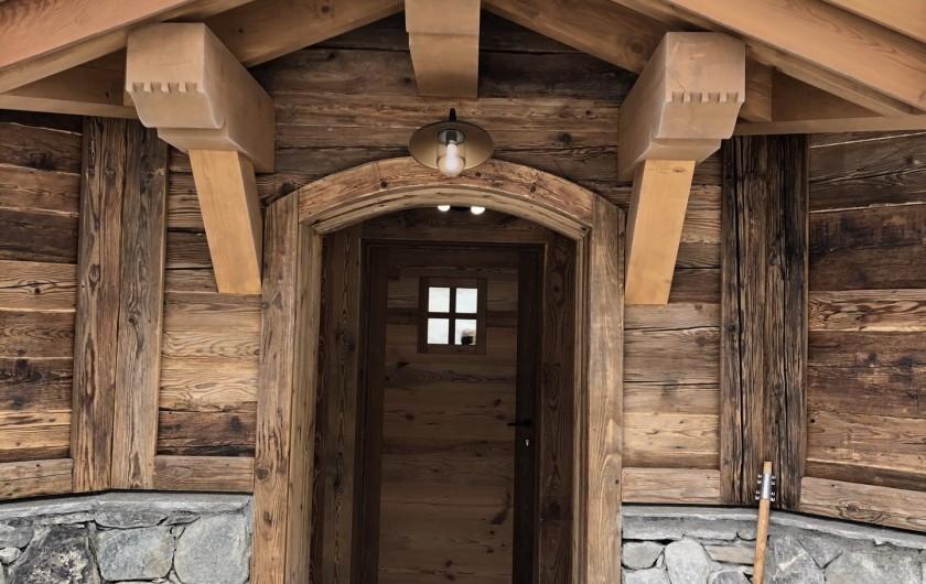 Location de vacances - Chalet à Chamonix-Mont-Blanc - Le porche savoyard