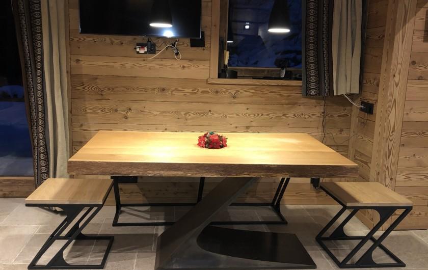 Location de vacances - Chalet à Chamonix-Mont-Blanc - La salle à manger