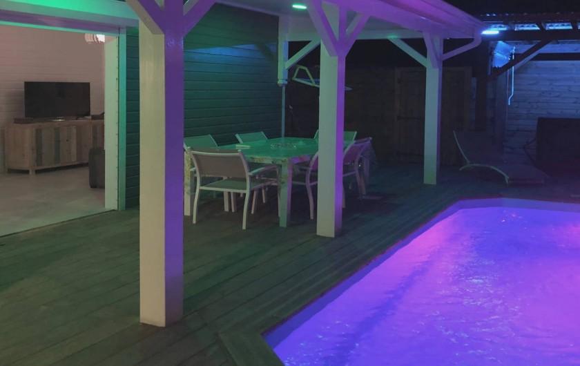 Location de vacances - Villa à Bouillante - TERRASSE