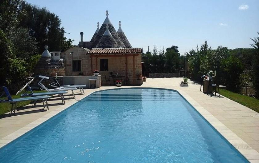 Location de vacances - Maison - Villa à Cisternino - Piscine splendide