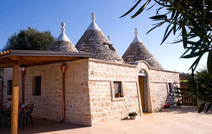 Location de vacances - Maison - Villa à Cisternino - Trulli