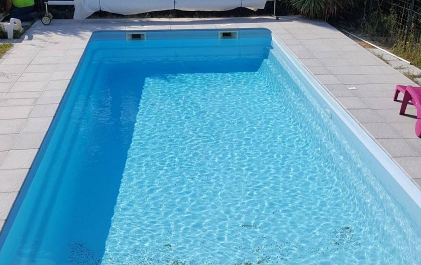 Location de vacances - Villa à Mirabel-aux-Baronnies - la piscine