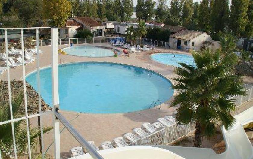 Location de vacances - Bungalow - Mobilhome à Fréjus - Piscines