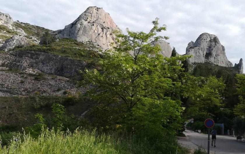 Location de vacances - Camping à Orgon