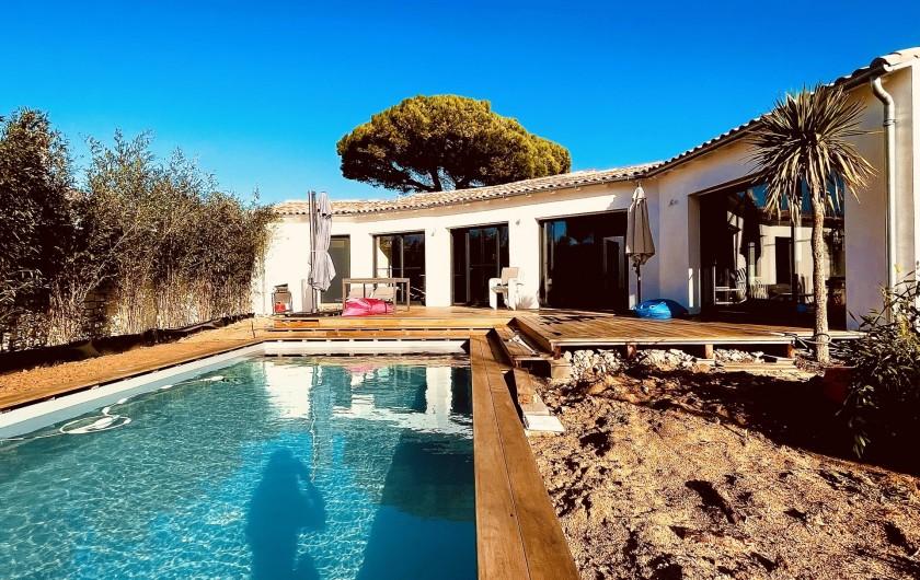 Location de vacances - Villa à Le Bois-Plage-en-Ré - Villa Bois Plage - vu du jardin