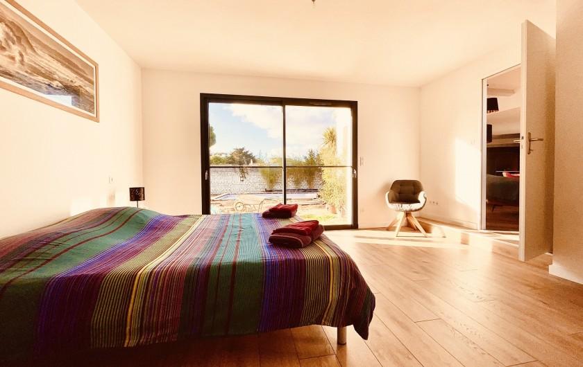 Location de vacances - Villa à Le Bois-Plage-en-Ré - Villa Bois Plage - Chambre 1