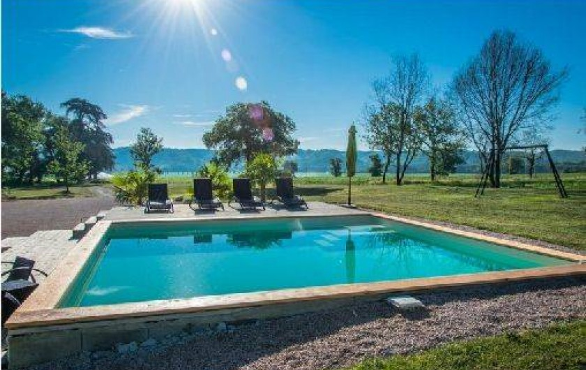 Location de vacances - Villa à Berdoues - piscine