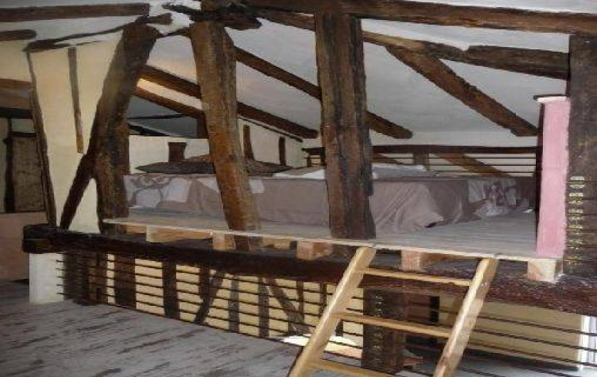 Location de vacances - Villa à Berdoues - Chambre mezzanine, étage