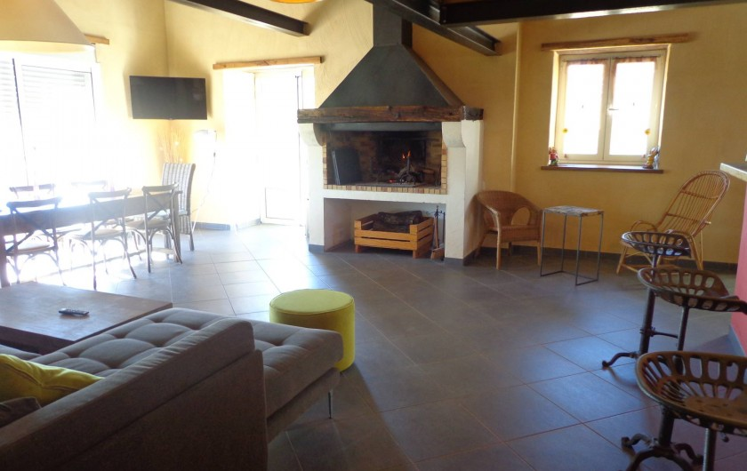 Location de vacances - Villa à Berdoues - Salon