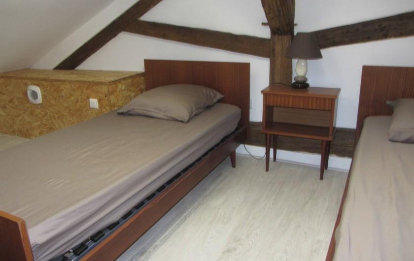 Location de vacances - Gîte à Sorges et Ligueux en Périgord - chambre 2 mezzanine