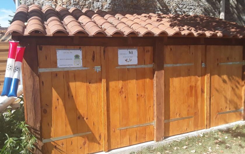 Location de vacances - Gîte à Sorges et Ligueux en Périgord - cabane tri