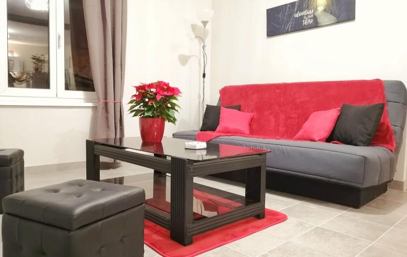 Location de vacances - Appartement à Colmar - Salon