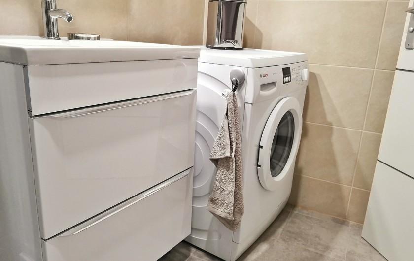 Location de vacances - Appartement à Colmar - Machine à laver