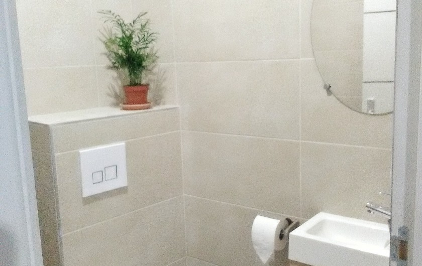 Location de vacances - Appartement à Colmar - WC