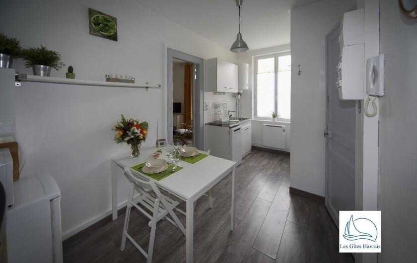 Location de vacances - Appartement à Le Havre - Cuisine