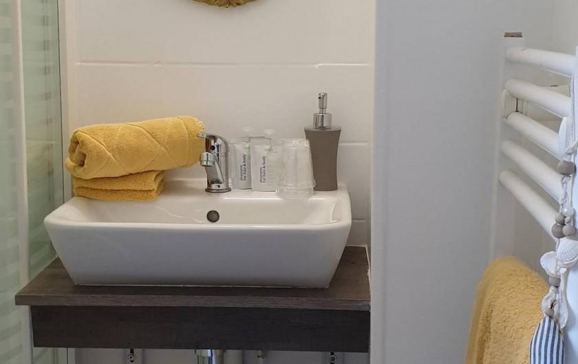 Location de vacances - Appartement à Le Havre - Salle de douche