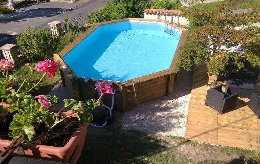 Location de vacances - Chambre d'hôtes à Beaumont - La piscine