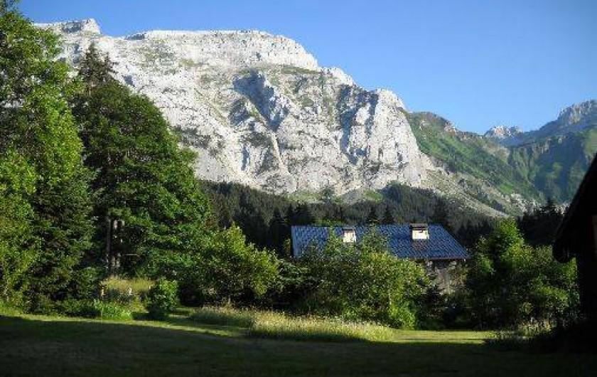 Location de vacances - Chalet à Mont-Saxonnex