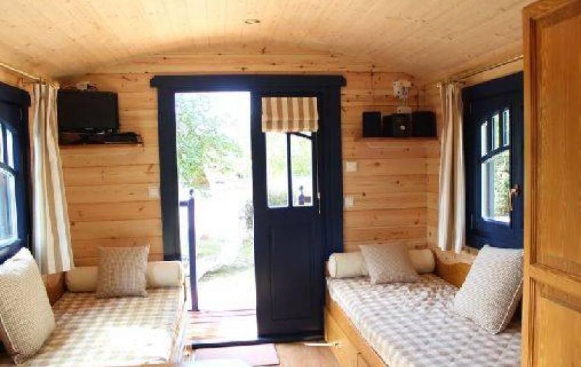 Location de vacances - Roulotte à Saumur