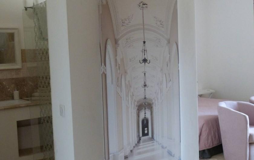 Location de vacances - Maison - Villa à Esclauzels - Entrée de la salle de bain
