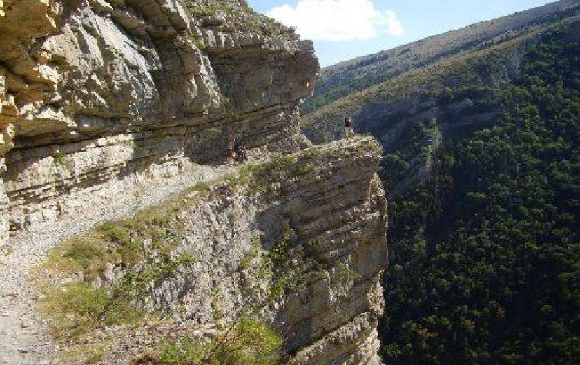 Location de vacances - Chalet à La Bâtie-Vieille - La montagne de Rabou