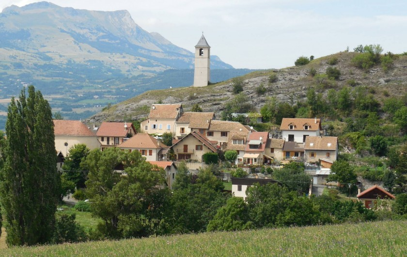 Location de vacances - Chalet à La Bâtie-Vieille - Le village