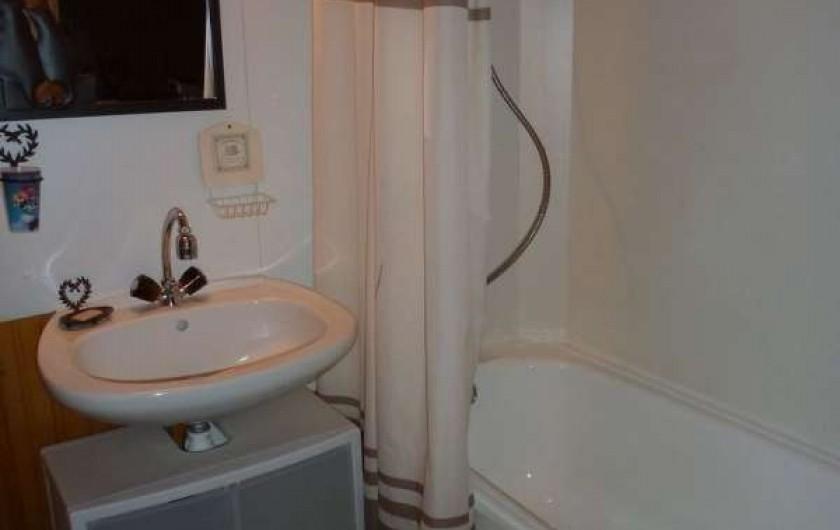 Location de vacances - Chalet à Bussang - Salle de bain