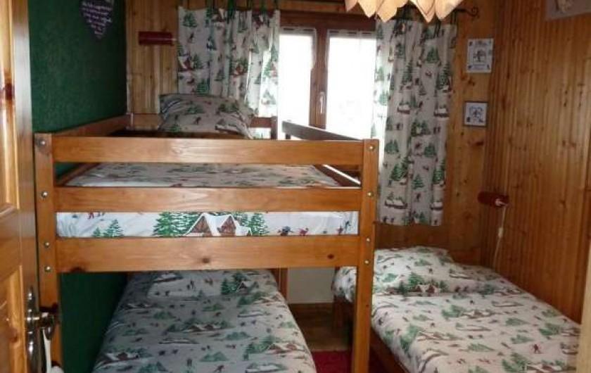 Location de vacances - Chalet à Bussang - Chambre 2