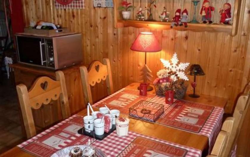 Location de vacances - Chalet à Bussang - Salle à manger