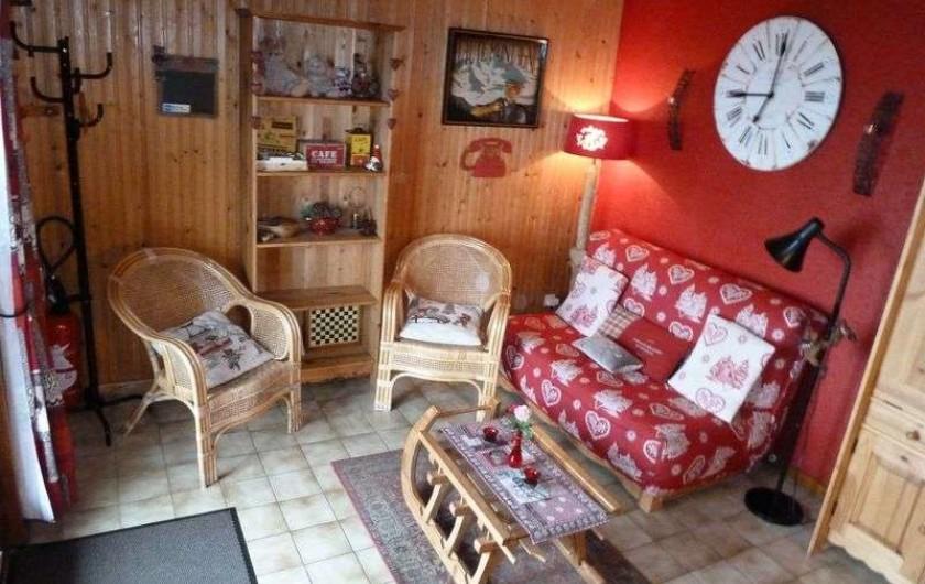 Location de vacances - Chalet à Bussang - Séjour