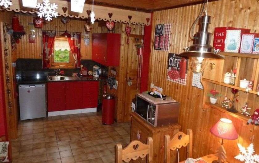 Location de vacances - Chalet à Bussang - Cuisine - Salle a manger
