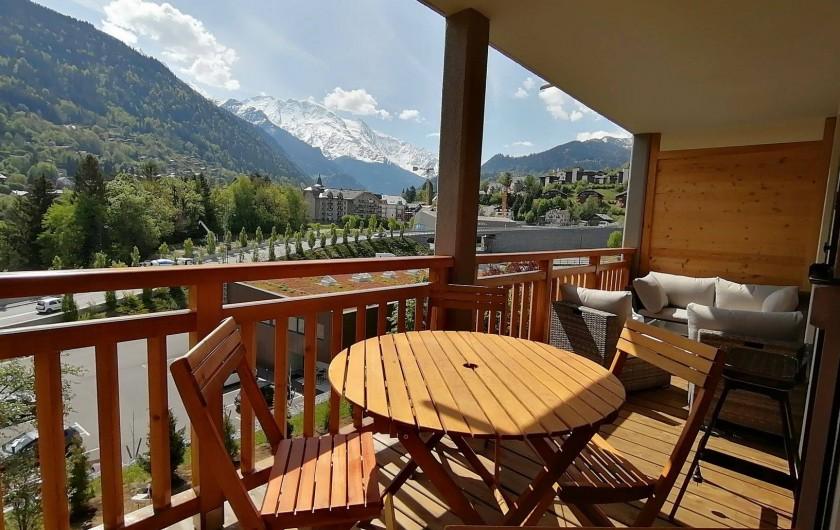 Location de vacances - Appartement à Saint-Gervais-les-Bains - Balcon