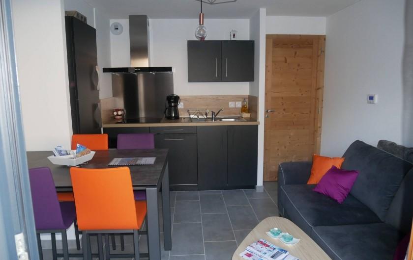 Location de vacances - Appartement à Saint-Gervais-les-Bains - Séjour