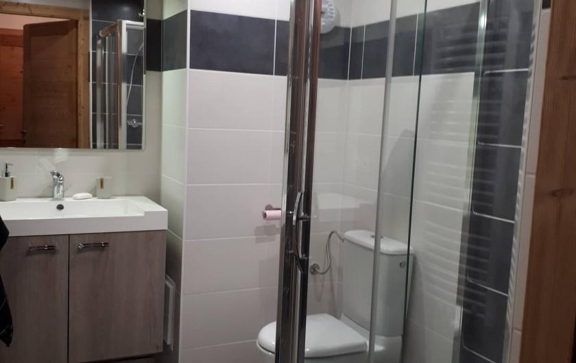 Location de vacances - Appartement à Saint-Gervais-les-Bains - Salle de bain