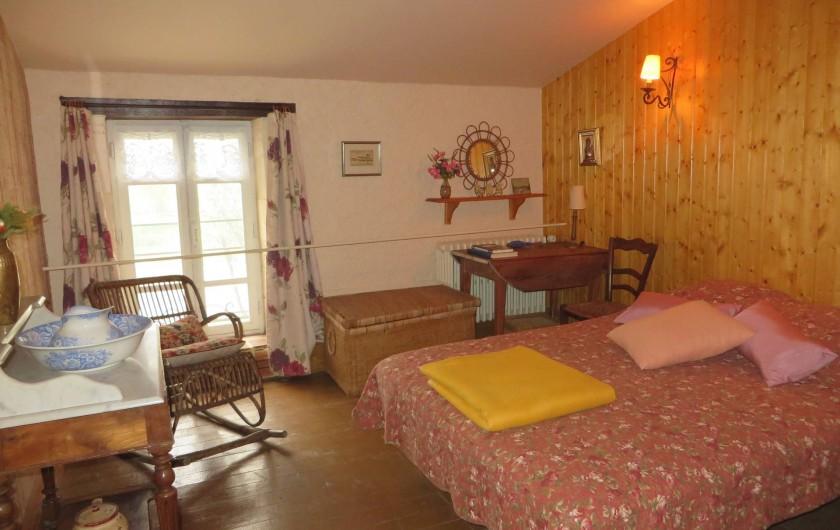 Location de vacances - Gîte à Maillé - chambre á coucher