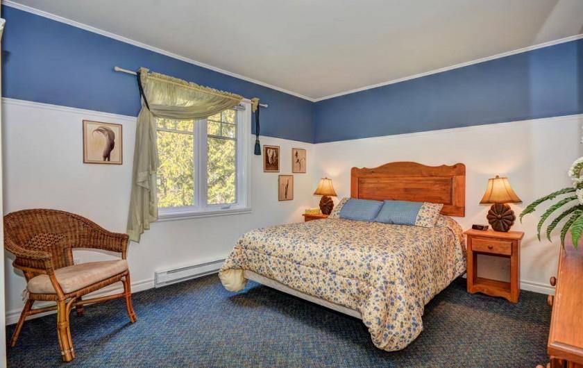 Location de vacances - Appartement à Saint-Donat - Chambre des maîtres