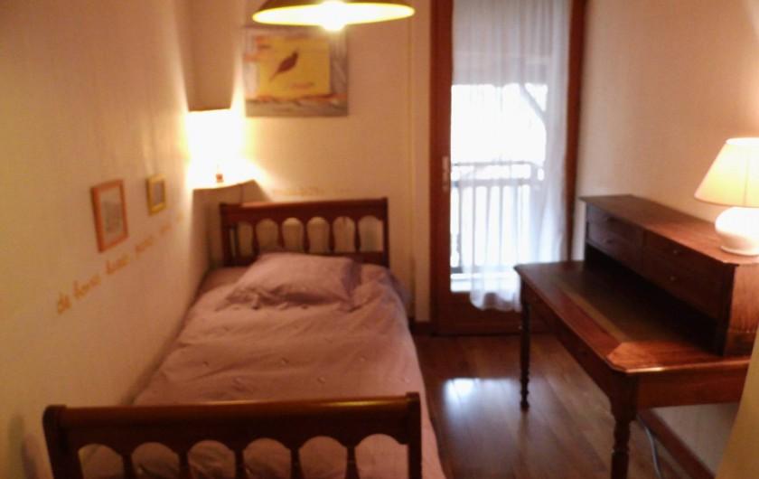 Location de vacances - Gîte à Cerdon - cambre n 2 1 lit de 0.m 60