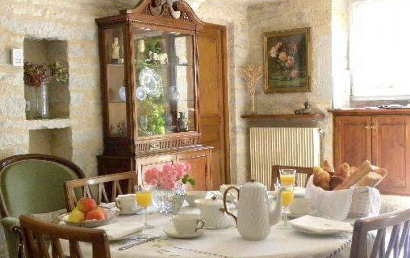 Location de vacances - Maison - Villa à Buffon - Salle à manger