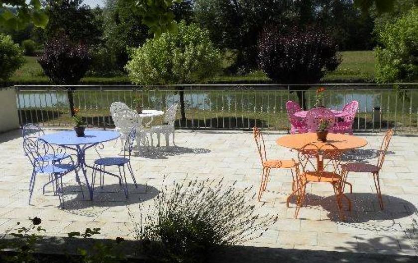 Location de vacances - Maison - Villa à Buffon - Terrasse