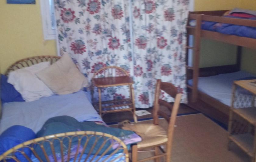 """Location de vacances - Villa à Sarzeau - chambre """"des garçons"""" 2° niveau"""