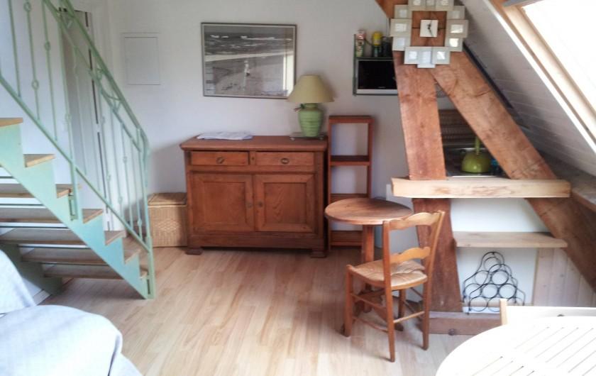 Location de vacances - Villa à Sarzeau - espace petite famille avec cuisinette 2° niveau