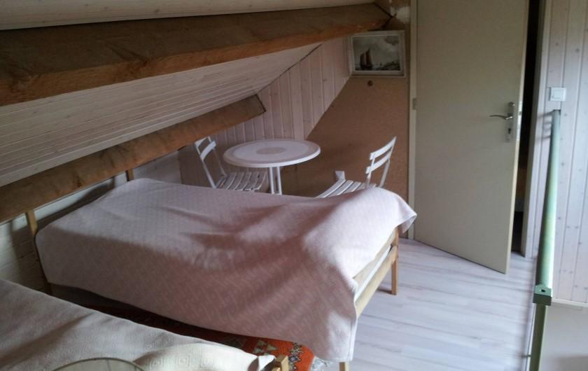 Location de vacances - Villa à Sarzeau - mezzanine 3° niveau