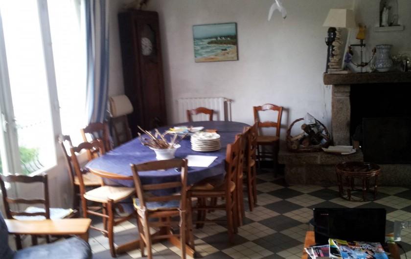 Location de vacances - Villa à Sarzeau - salle à manger 1°niveau