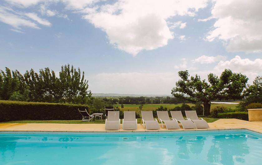 Location de vacances - Gîte à Prigonrieux - Chambre double