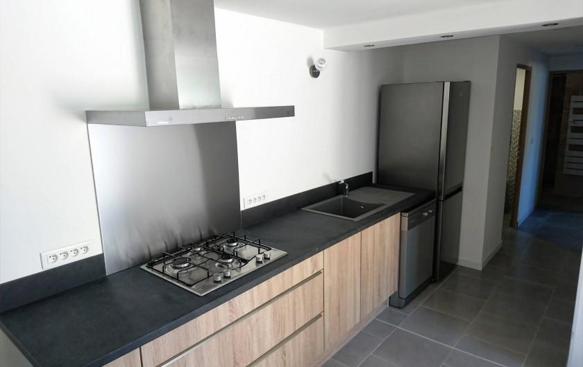Location de vacances - Gîte à Orgon - La cuisine du gîte