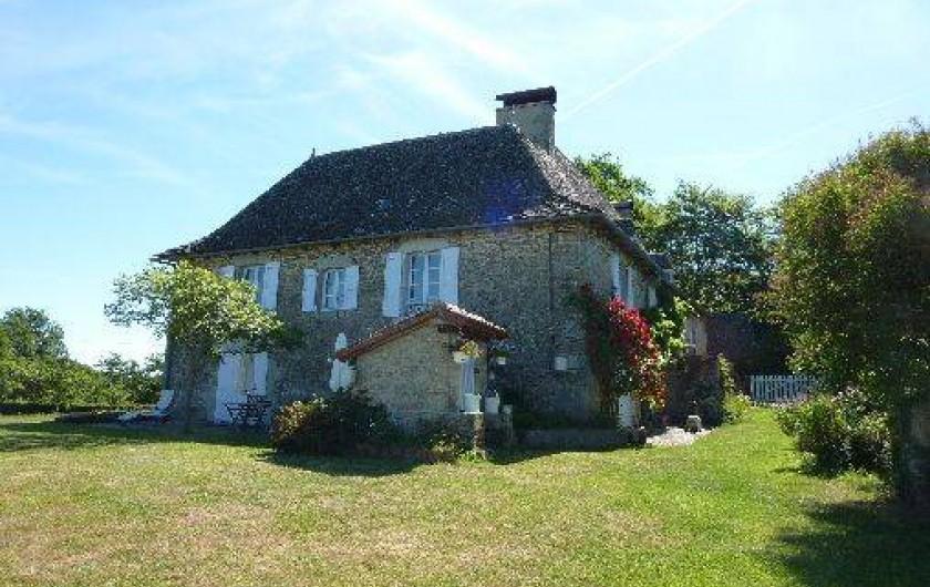 Location de vacances - Chambre d'hôtes à Marcolès - A la Clairi+re