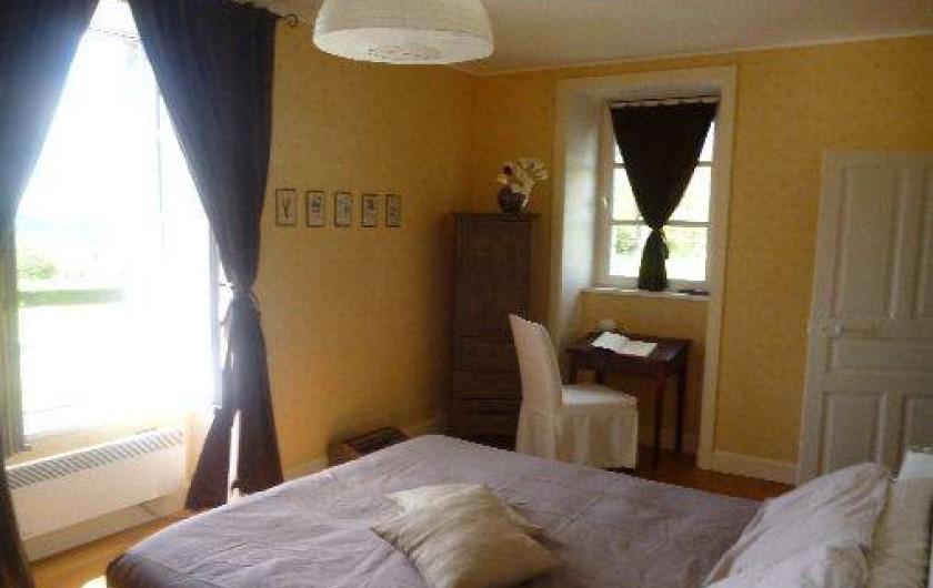 Location de vacances - Chambre d'hôtes à Marcolès - Chambre du Jardinier