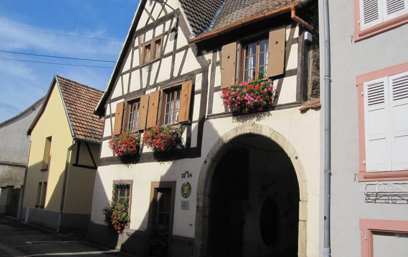 Location de vacances - Gîte à Ingersheim - Notre maison de 1728